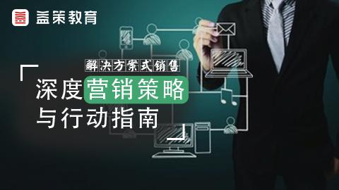 解决方案式销售–深度营销策略与行动指南