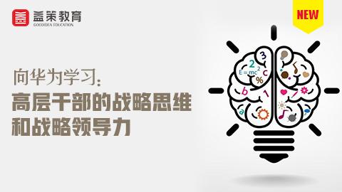 向华为学习:高层干部的战略思维和战略领导力