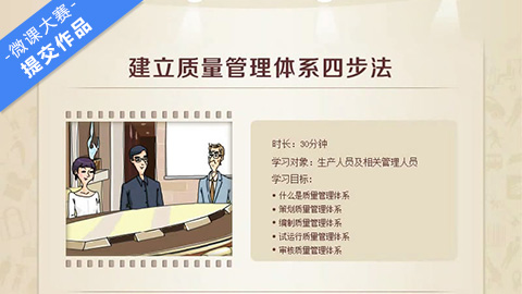 建立质量管理体系四步法